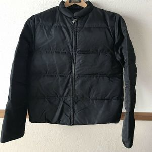 J.Crew Black Puffy Men's? Jacket Duckdown/Feather